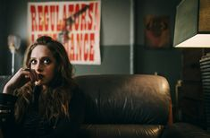 off-centered framing. use of red/blues to augment dark textures. playing with our ideas of blood - color, texture, fear Mr Robot Season 2, Series Movies, Tv Series, Carly Chaikin, Horror Fiction, My Only Love, Stunning Women, Awkward, Filmmaking