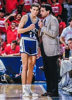 Coach K and Quin Snyder