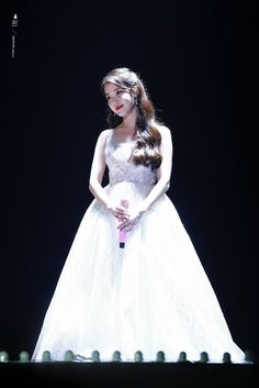 IU was scolded on stage by a fan after saying she gained weight — Koreaboo Korean Actresses, Asian Actors, Irene, Stage Outfits, Fashion Outfits, Korean Drama Best, Korean Artist, My Baby Girl, Ulzzang Girl