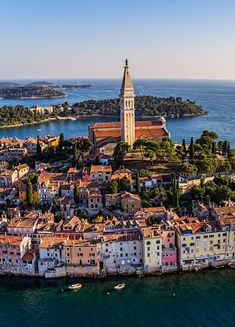 Rovinj, Croacia Tower Bridge, Geography, My Dream, Paris Skyline, Places To Visit, Around The Worlds, Journey, Country, Travelling