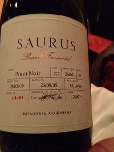 Pinot noir patagónico