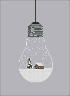 Ampoule boule de neige