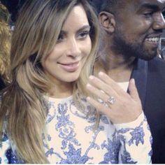 It's Official... Kanye West & Kim Kardashian Are Engaged