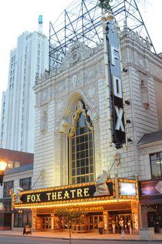 Fabulous Fox Theatre in Grand Center.