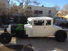 1926 Dodge Brothers hot rod when I first got it.