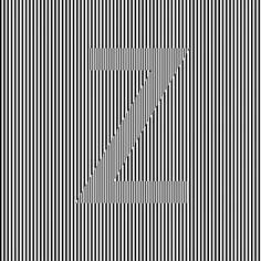 Zebra #36daysoftype #36daysoftype_z #opticalillusion #opart by gio_vfx