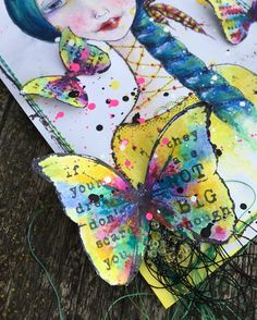 über easy peasy butterfly to colorise - a must have butterfly - Finnabair's butterfly...