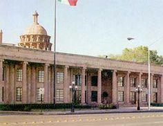 Palacio del Congreso in Saltillo, Coahuila, Mexico - Tour By Mexico  ®  http://www.tourbymexico.com/coahuila/saltillo/saltillo.htm