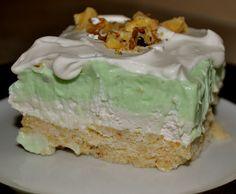 Pistachio Pudding Bars Recipe