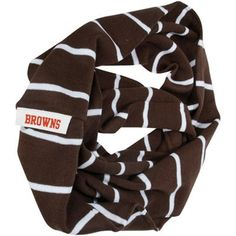 '47 Brand Cleveland Browns Ladies Infinity Scarf - Brown #Fanatics #PinForPresents