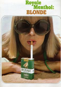 """""""Check it out. If I light the box I can smoke the whole pack at once."""" (Funny bad cigarette ads)"""