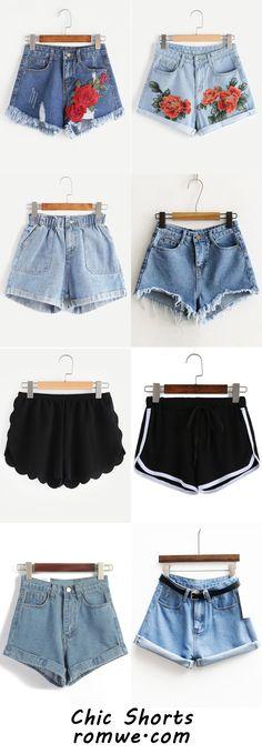Sexy Summer Shorts 2017 - romwe.com