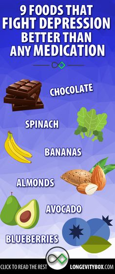 Foods that fight depression #nutritionquotesholistic
