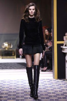 Semana de moda em Paris 2013.