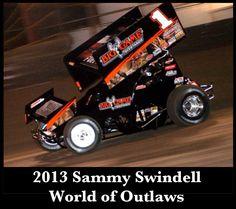2013 Sammy Swindell World of Outlaws - Gary Edwards photo