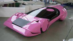 Luigi Colani Pink car / cool