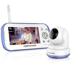 [ Giveaway ] DBPOWER Digital Sound Activated Video Record Baby Monitor with Color LCD Screen Remote Camera Pan-Tilt-Zoom Lullaby Night Vision Two Way Audio and Recording Compatible Mount Shelf Multi Camera, Digital Video Recorder, Nanny Cam, Little Library, Remote Camera, Baby Monitor, Night Vision, Baby Shower Gifts, Babe