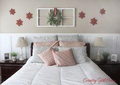 COUNTRY GIRL HOME Christmas bedroom