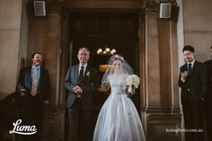 Father and the bride, Anna, walking down the aisle at Melbourne Town Hall Walking Down The Aisle, Town Hall, Bridesmaid Dresses, Wedding Dresses, Wedding Ceremony, Melbourne, Father, Anna, Wedding Photography