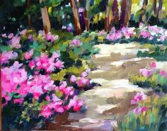 """Daily+Paintworks+-+""""Zoom+In""""+-+Original+Fine+Art+for+Sale+-+©+Libby+Anderson"""