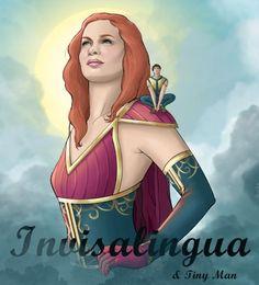 Felicia as a super hero contest -- Invisalingua