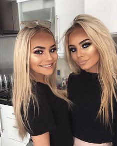 Rare pic of us together🖤 Beauty Makeup, Hair Makeup, Hair Beauty, New Hair, Your Hair, Platinum Blonde Hair, Pretty Face, Hair Goals, Hair Inspiration
