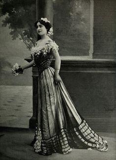 Les Modes (Paris) 1903 Robe de Bal par Walles
