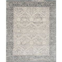 Shop for Bardot Gray and Ivory Area Rug (8' x 10'). Get free shipping at Overstock.com - Your Online Home Decor Outlet Store! Get 5% in rewards with Club O!