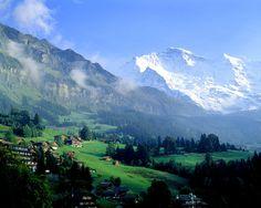 MS-3131.  Wengen, Switzerland - Jim Zuckerman Photography