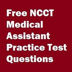 150 free medical assistant practice test questions in mutilple choice format with instant answers for your offical NCCT MA certification exam. Medical Assistant Practice Test, Medical Assistant School, Medical Assistant Training, Medical Assistant Certification, Medical Administrative Assistant, Medical Careers, Medical Coding, Medical Terminology, Medical Humor