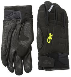 d6150083698 Outdoor Research Alibi II Gloves Black Lemongrass Large  fashion  clothing   shoes
