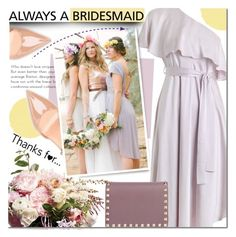 """""""Always a Bridesmaid"""" by mada-malureanu ❤ liked on Polyvore featuring Zimmermann, Sergio Rossi, Valentino, polyvoreeditorial and alwaysabridesmaid"""