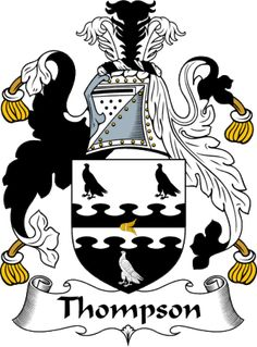 English Thompson Coat of Arms