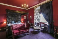Once the seat of the Ramsay Clan, the castle boasts an illustrious guest list that includes King Edward I, Sir Walter Scott, Oliver Cromwell and Queen Victoria. Scotland Castles, Edinburgh Scotland, Stay In A Castle, Royal Beauty, Guest List, Bedroom Themes, Queen Victoria, Luxury, Interior
