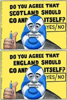 Equally hilarious? Co Uk, Edinburgh, Rally, Scotland, Cartoons, Hilarious, March, Comic Books, Politics