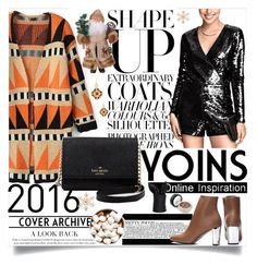 """""""Yoins :LONG coat for Christmas"""" by loveyoins ❤ liked on Polyvore featuring Kate Spade and John Lewis"""