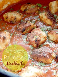 Blog post at The Taylor House : Chicken Parmesan Meatballs    By: Ally from Ally's Sweet & Savory Eats      I am the quintessential typical Amer[..]