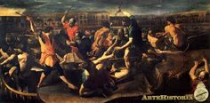 Naumaquia romana (Giovanni Lanfranco, h.1635)