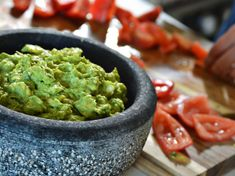 Guacamole preparation in progress, by UXATA Personal Chef Services, Riviera Maya. #recipes #guacamole Fresh Guacamole, Homemade Guacamole, Guacamole Recipe, Riviera Maya, Ripe Avocado, Personal Chef, Tortilla Chips, Serving Dishes, Easy Meals
