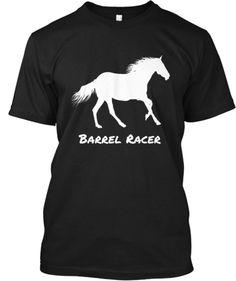 Barrel Racer Chick | Teespring
