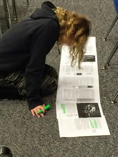 Musings from the Middle School: Practicing What You Pin: Textmapping
