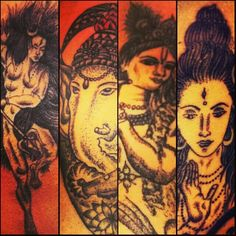 Old works and my fev . #Shiva #tattoo