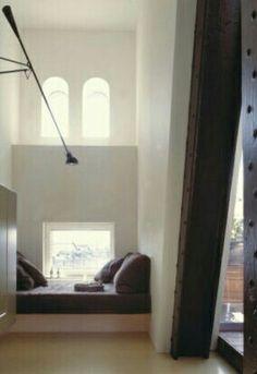 cozy niche   loft apartment at Silodam, Amsterdam