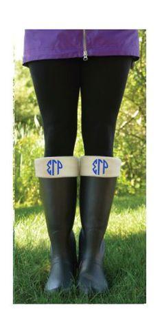 Sigma Gamma Rho New Englander Boot Socks