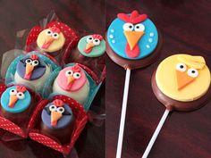 trufas e pirulitos personalizados Cupcakes, Cupcake Cakes, Chocolates, 2nd Birthday, Birthday Parties, Cake Pops, First Birthdays, Party Time, Biscuits
