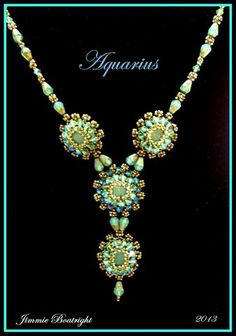 Aquarius is my latest design, loaded with wonderful AB2x crystals for that extra sparkle.