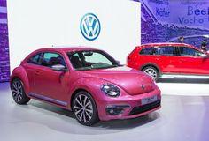2016 Volkswagen Beetle Pink Model