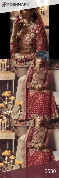 a462a26ac1 Indian pAkistani bridal original designer Bridal wear original designer  wear lengha unstitched. Stitching available on. Poshmark