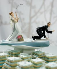 Cute/funny wedding cake toppers
