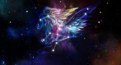 Pegasus constellation art